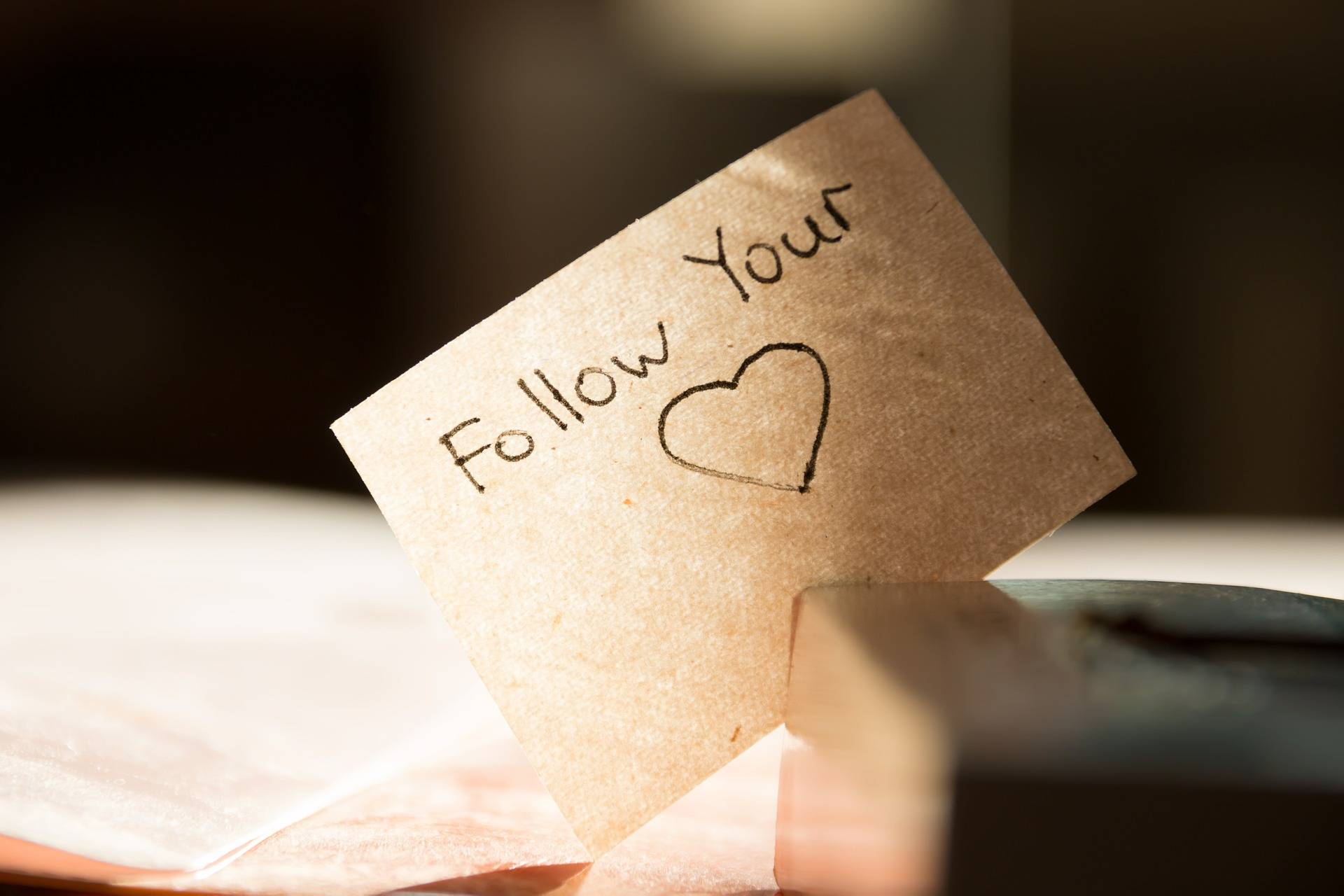 Follow Your Heart in a Relationship